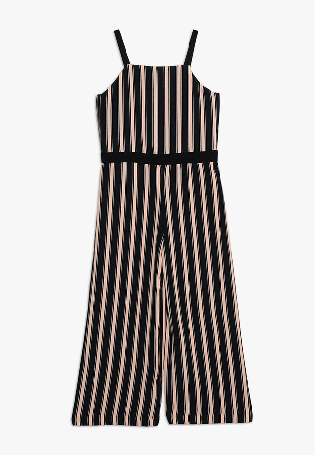 STRIPE TUX JUMPSUIT - Overall / Jumpsuit - black stripe