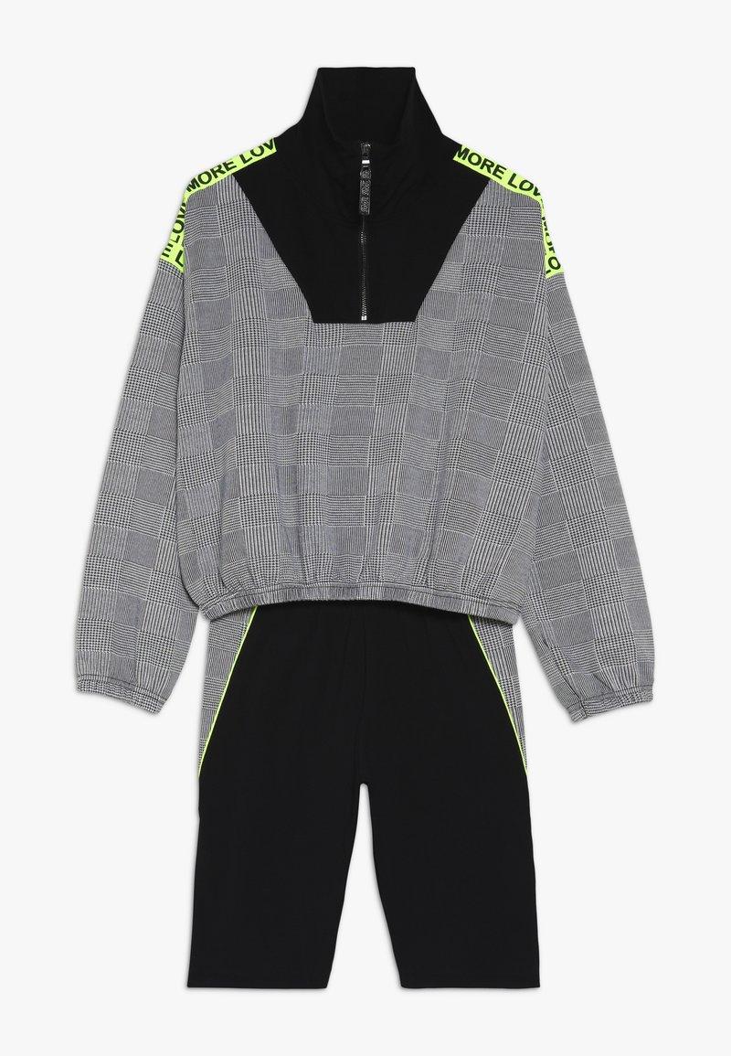 River Island - SET - Sweatshirt - black