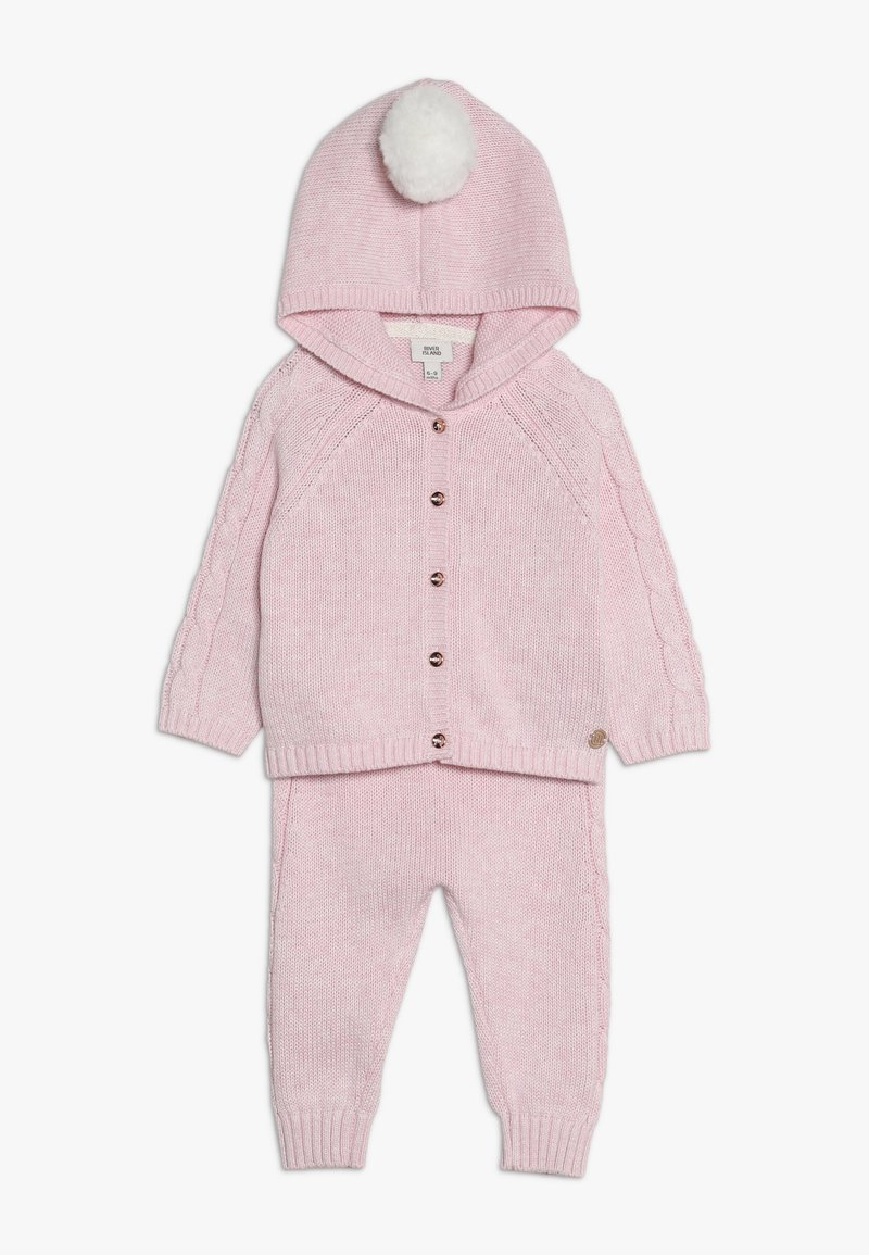 River Island - SET  - Strickjacke - pink