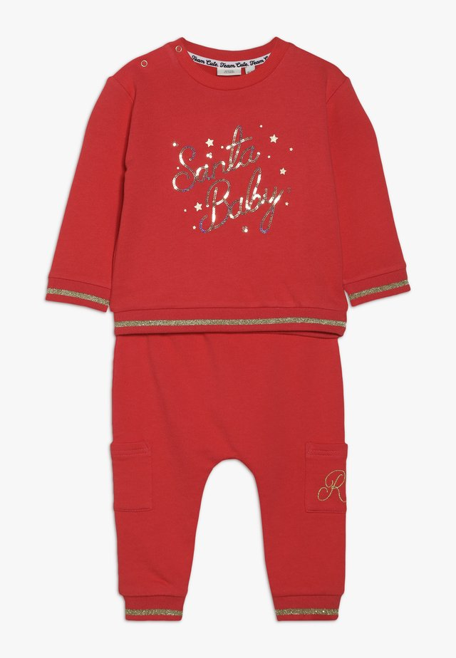 SANTA BABY SET - Sudadera - red