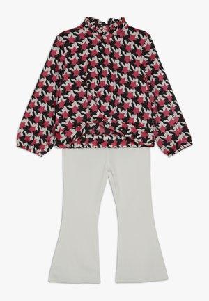 SET - Pantalon classique - white