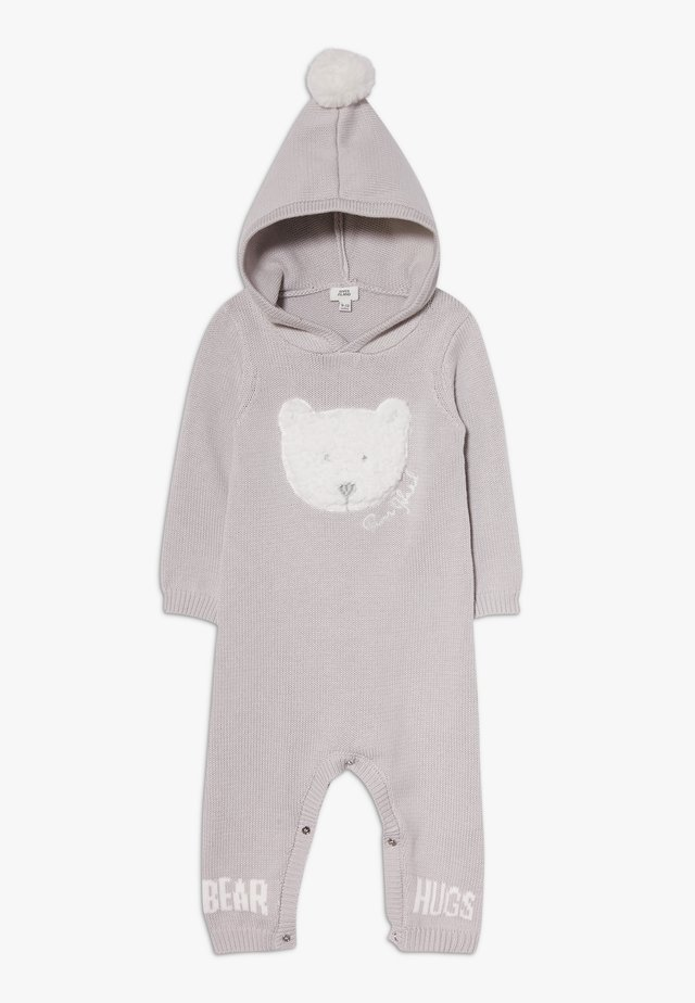 BEAR HUGS HOOD ALL IN ONE - Overall / Jumpsuit - grey