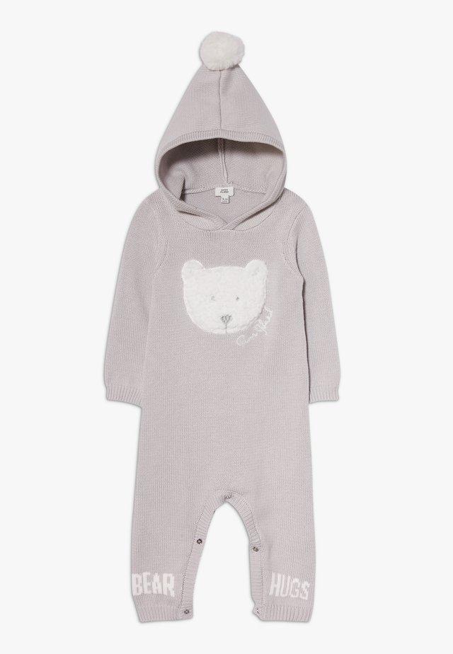 BEAR HUGS HOOD ALL IN ONE - Jumpsuit - grey