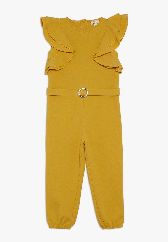 Jumpsuit - dark yellow
