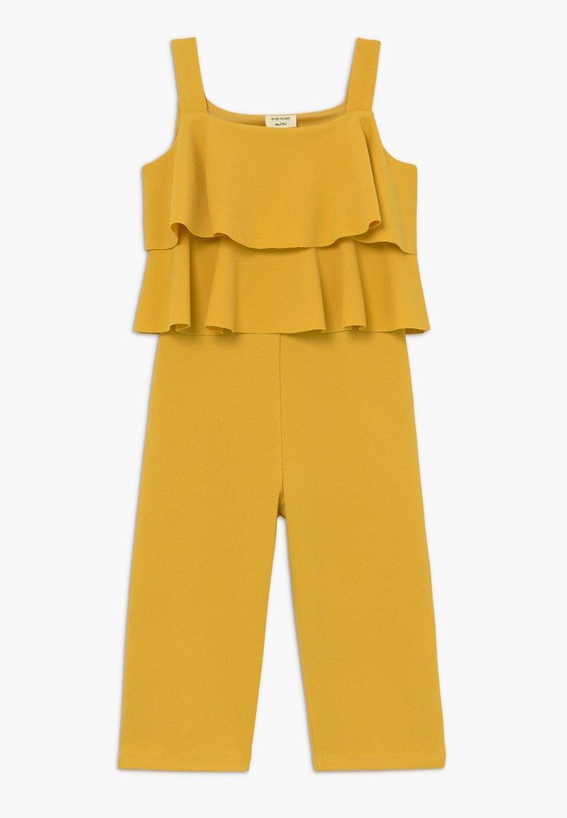 River Island - Jumpsuit - dark yellow