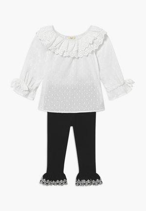 SET - Leggings - white