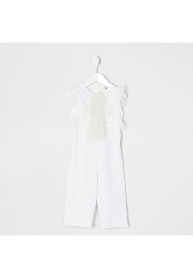Overall / Jumpsuit - white