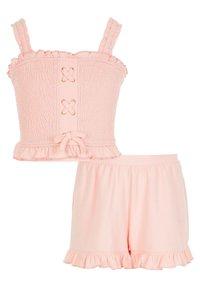 River Island - SET - Shorts - pink - 0