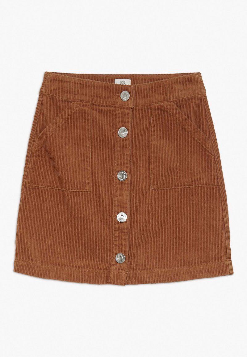 River Island - A-linjekjol - light brown