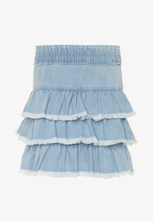 Mini skirt - blue