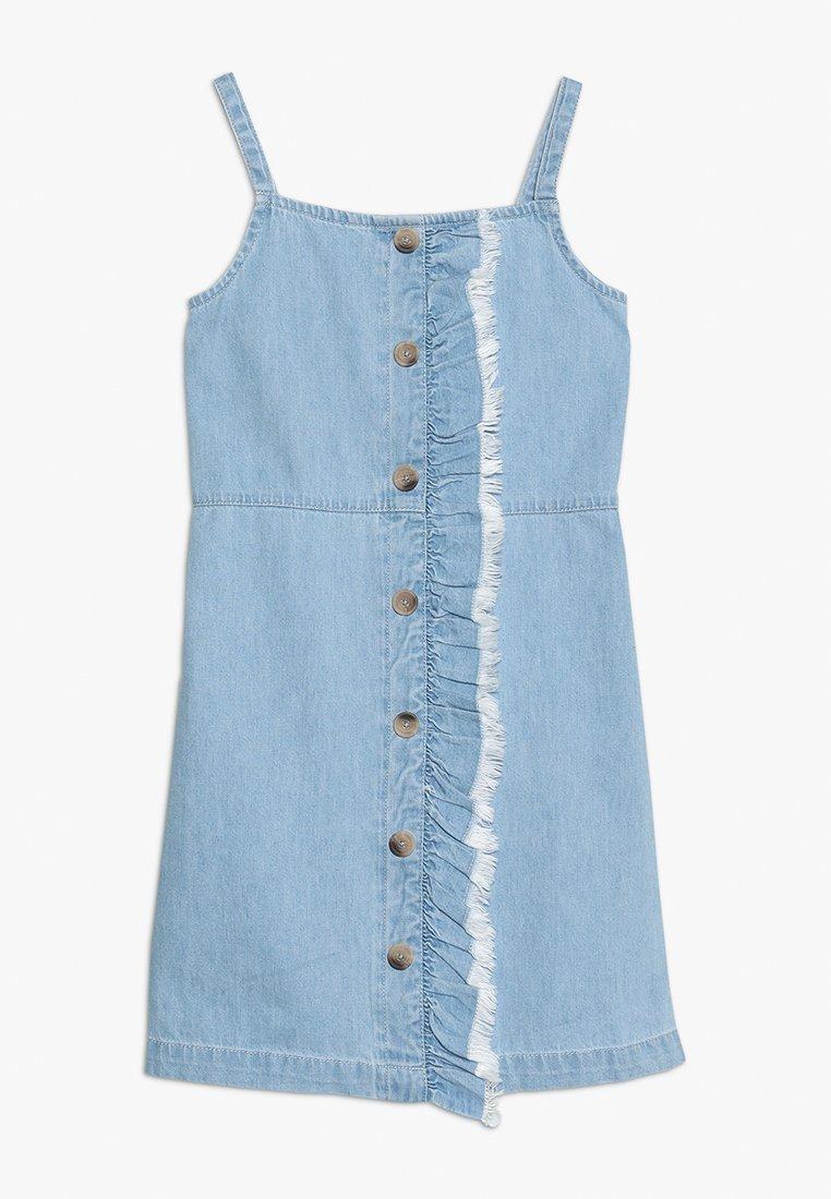 River Island - Vestito di jeans - blue