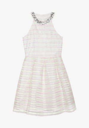 Koktejlové šaty/ šaty na párty - white