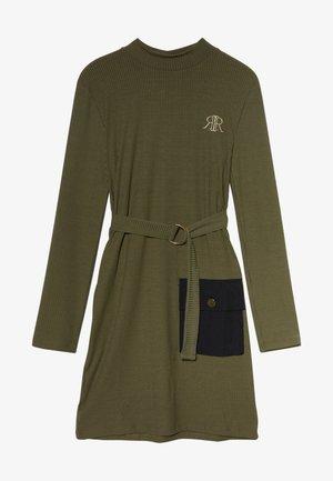 Robe en jersey - khaki