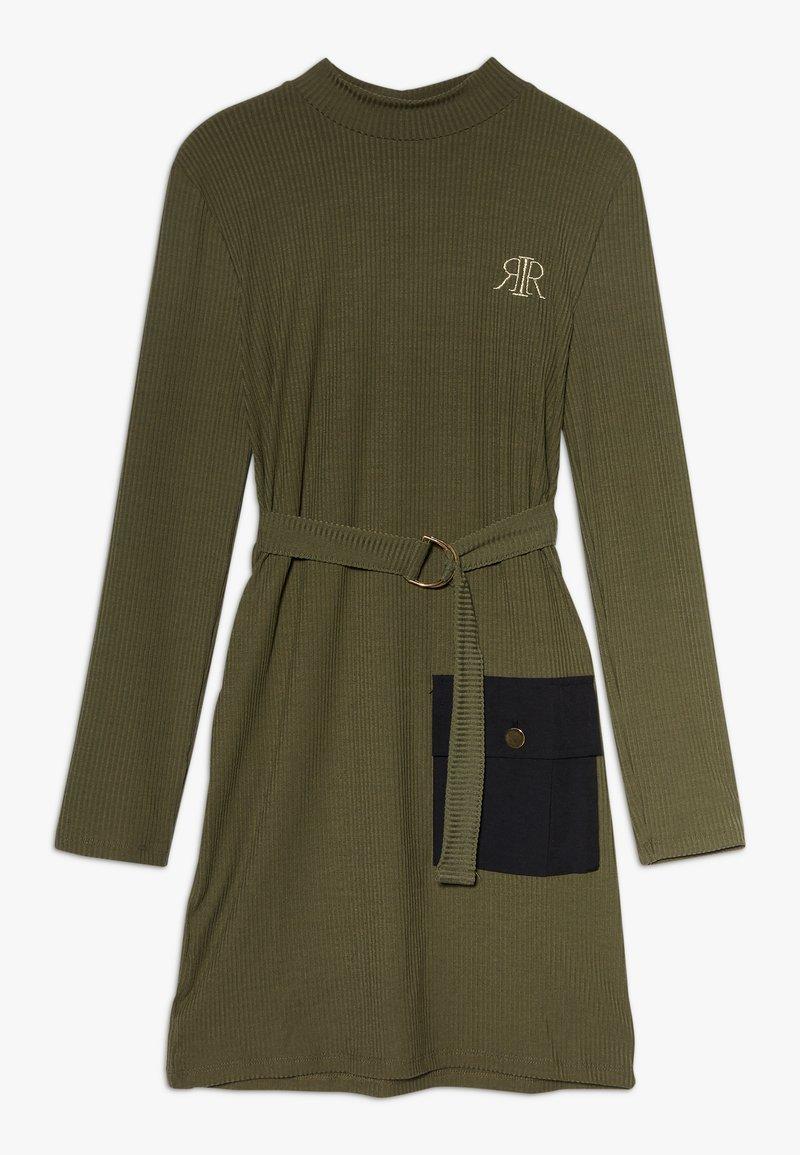 River Island - Jersey dress - khaki