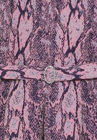 River Island - SNAKE PROM - Koktejlové šaty/ šaty na párty - pink - 3