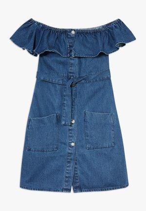BARDOT DRESS - Vestido vaquero - blue