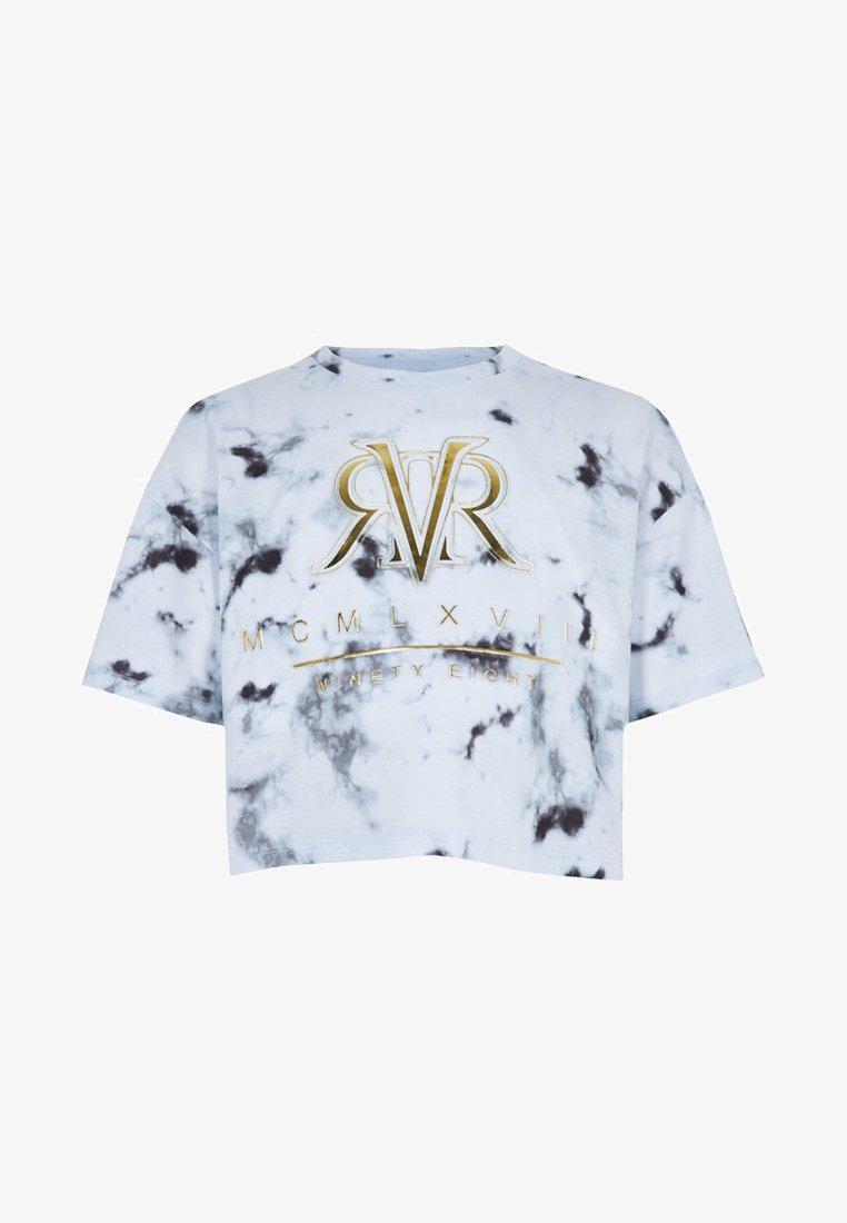 River Island - Print T-shirt - white