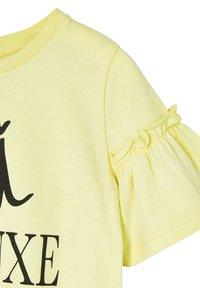 River Island - T-shirt print - yellow - 2