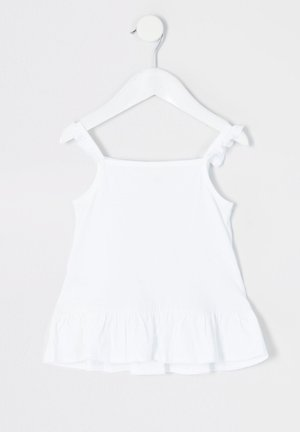 MINI GIRLS WHITE FRILL CAMI TOP - Top - white
