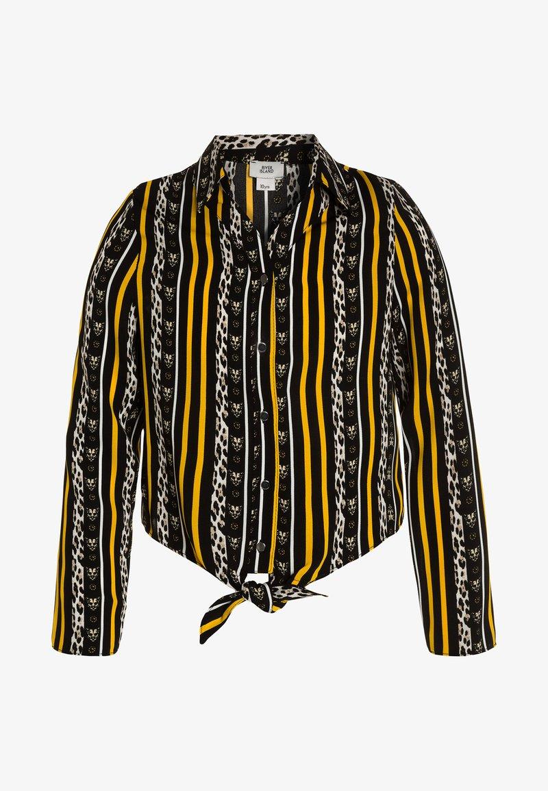 River Island - Button-down blouse - yellow