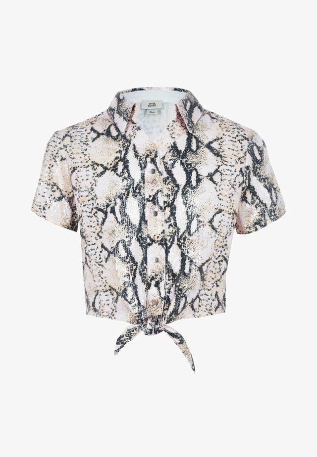Skjorta - white/grey
