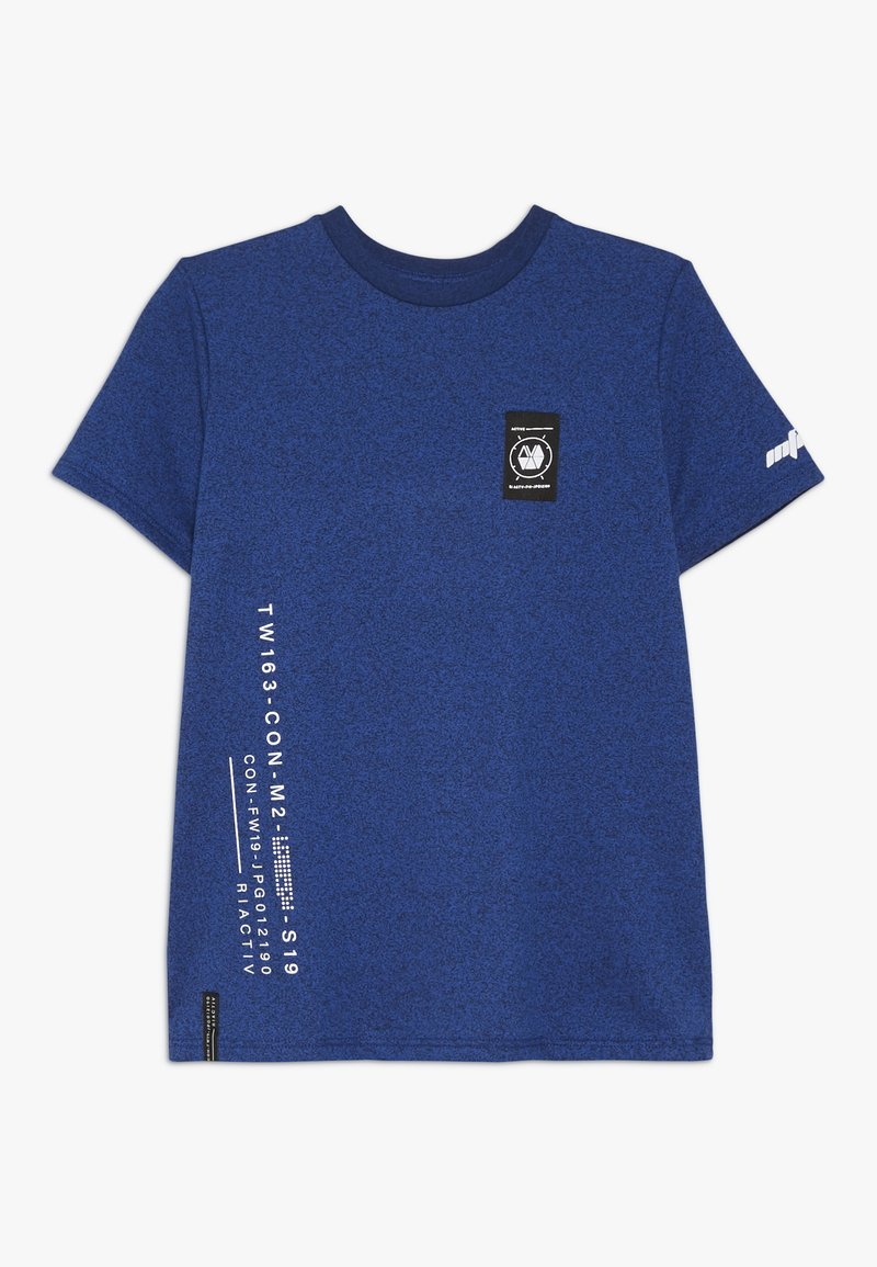 River Island - T-shirt imprimé - black