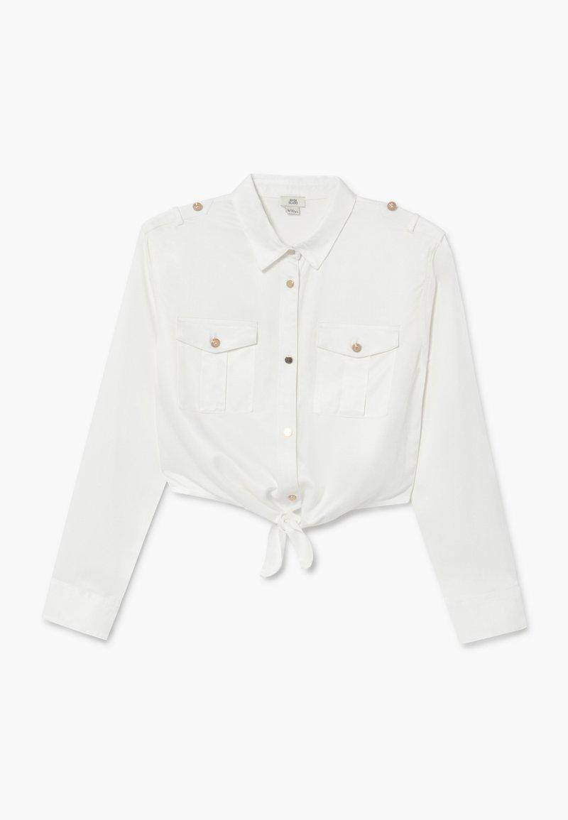 River Island - Button-down blouse - white