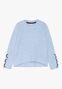 River Island - Stickad tröja - blue - 0