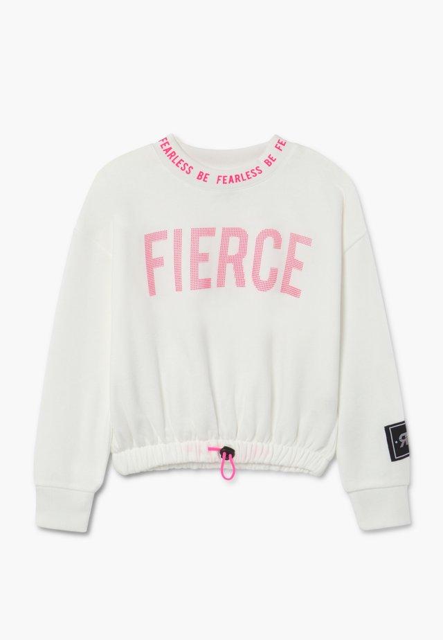 Sweatshirt - white
