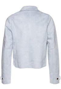 River Island - Faux leather jacket - blue light - 1