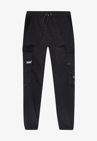 River Island - BLACK MULTI POCKET  - Cargo trousers - black - 3