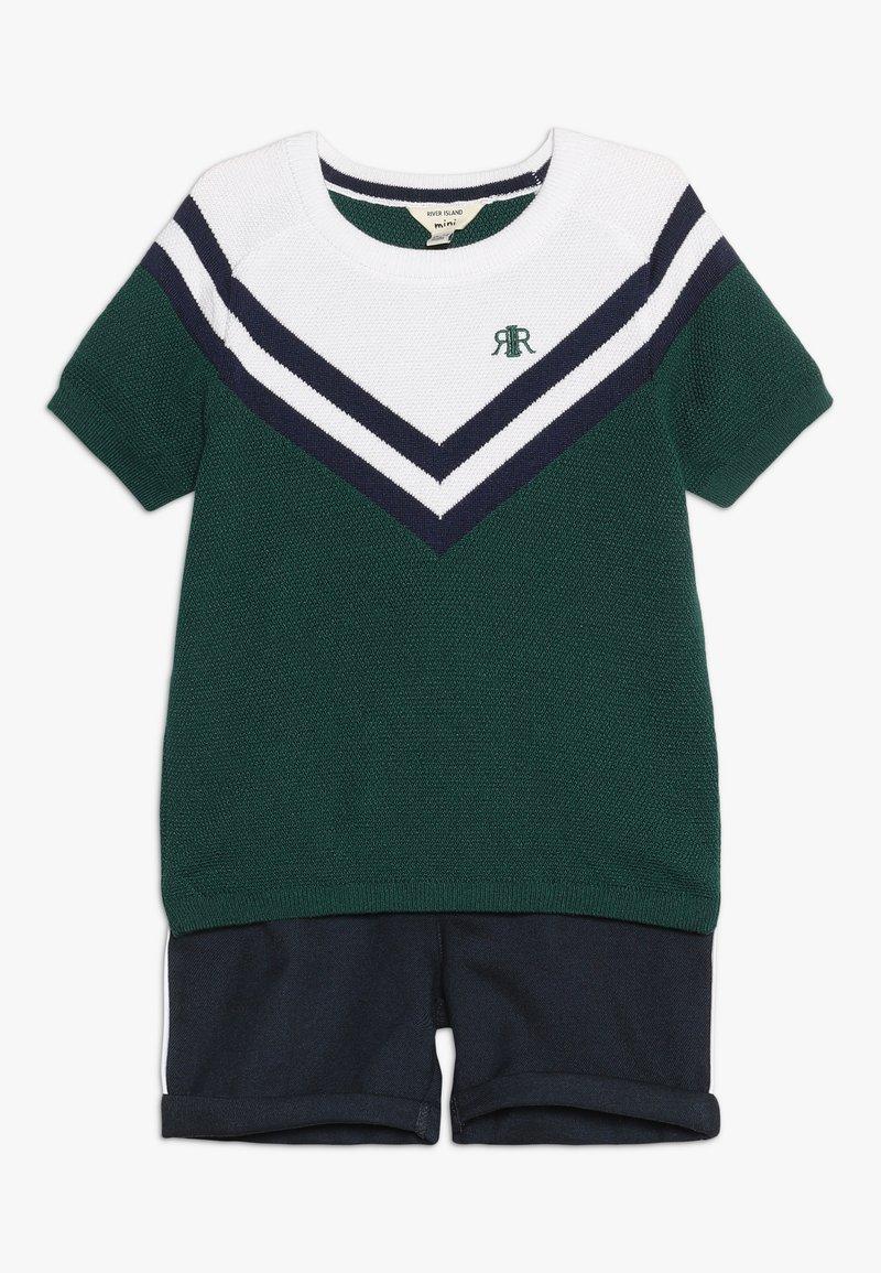 River Island - SET - Shorts - green