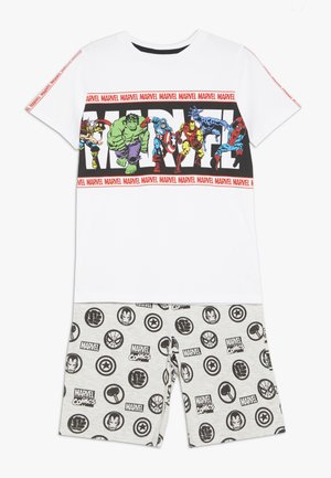 MARVEL TAPE SHORT SET - Shortsit - white