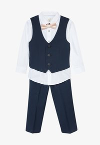 River Island - STANDARD SUIT SET - Suit waistcoat - navy - 4