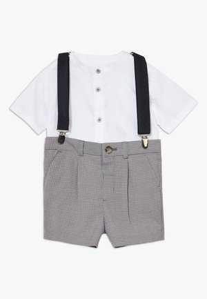GREY CHECK SUIT - Shorts - grey