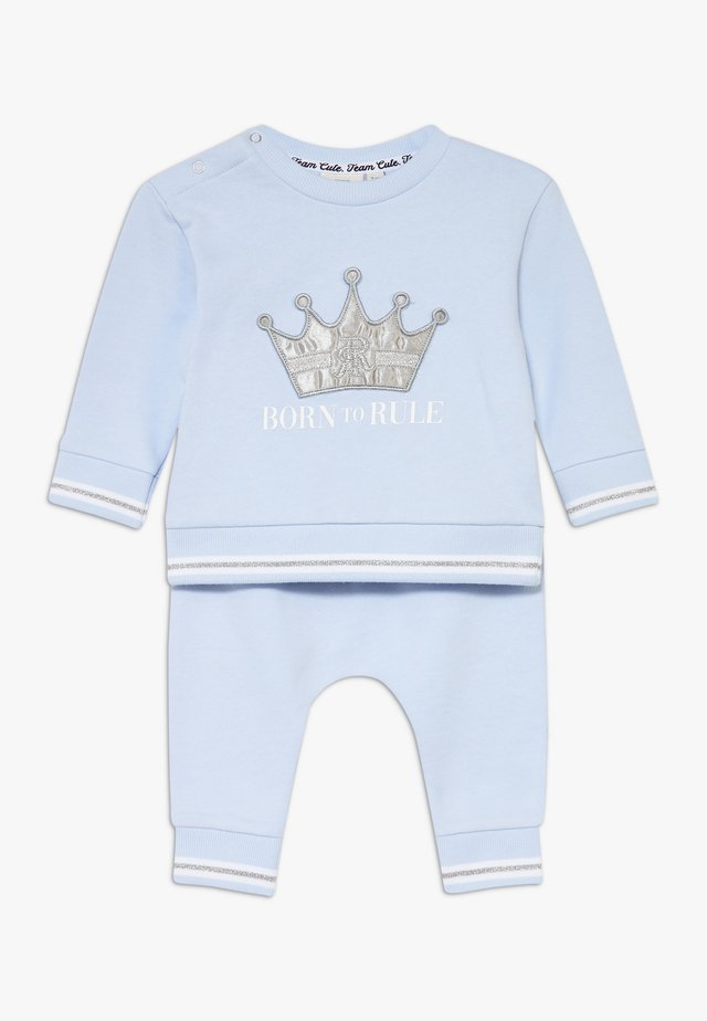 BORN TO RULE SET - Sweatshirt - blue