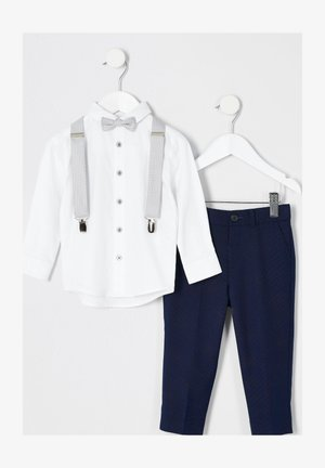 SET - Pantaloni - blue/white