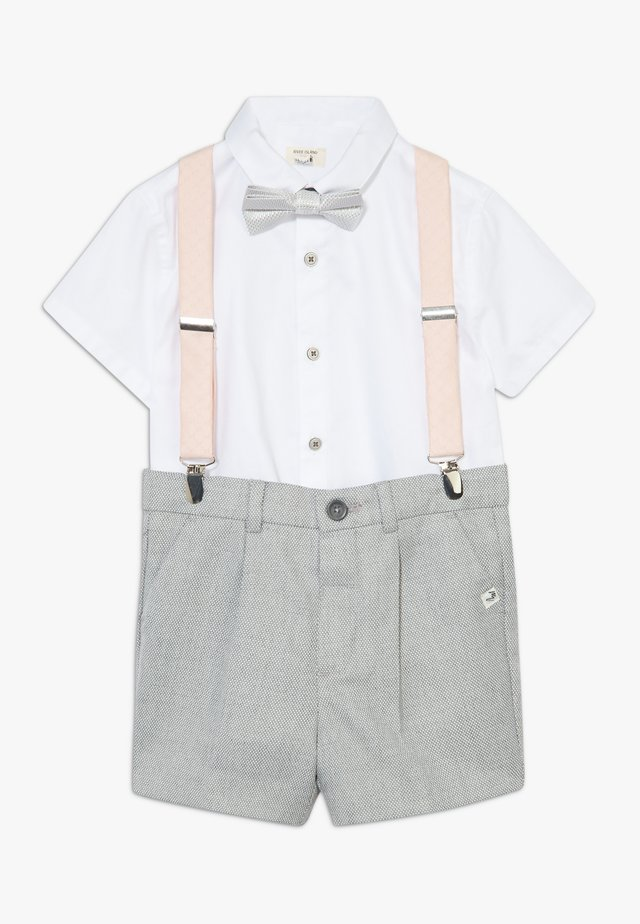 FREDDIE JOY SUIT SET - Shorts - grey