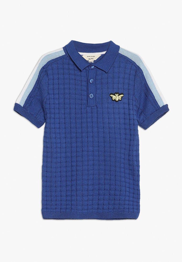 River Island - Polo shirt - cobalt