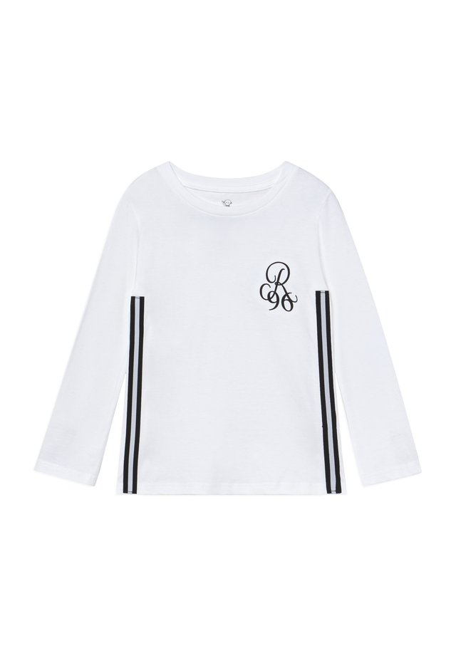 Långärmad tröja - white