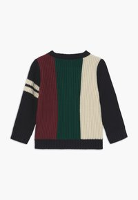 River Island - BLOCKED LOGO JUMPER - Svetr - multi - 1