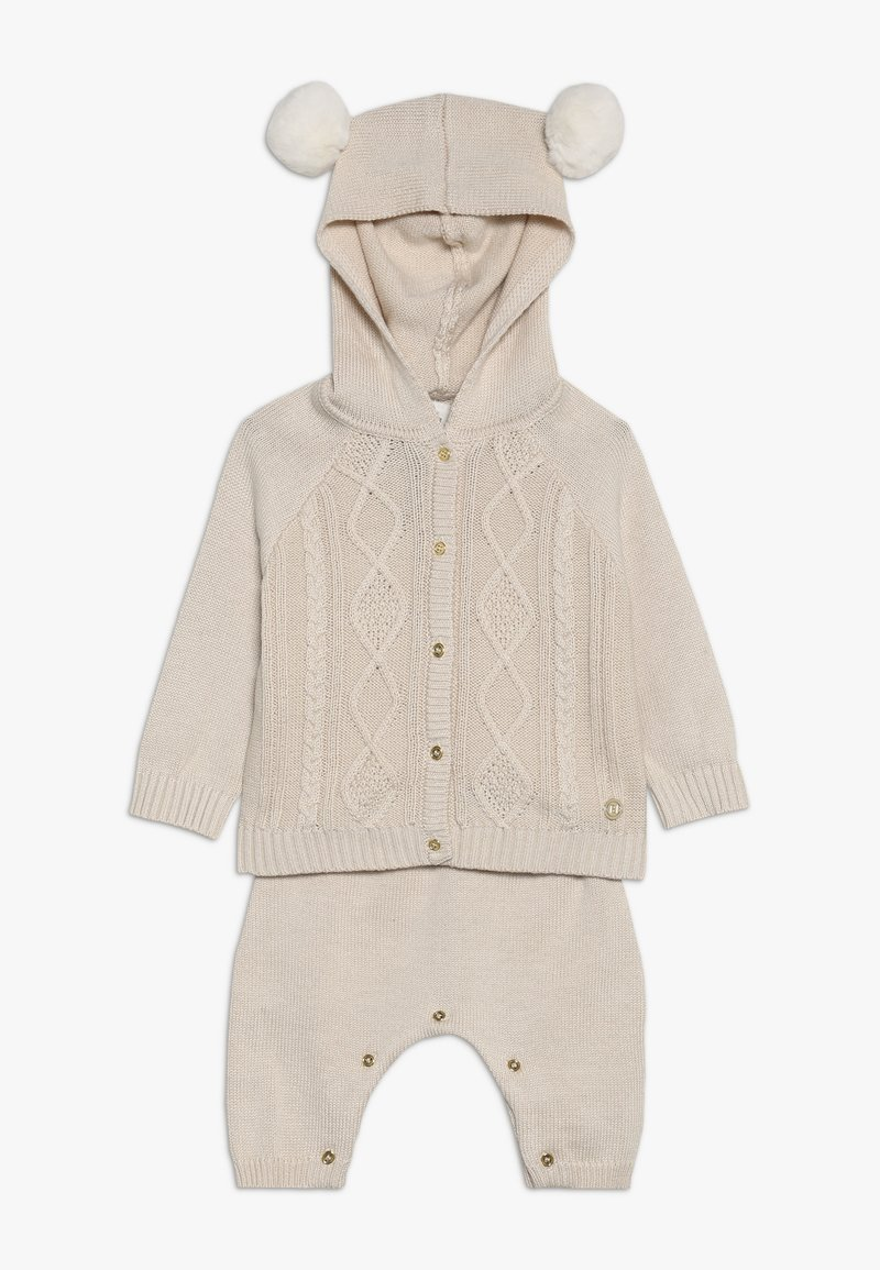 River Island - SET - Strickjacke - cream