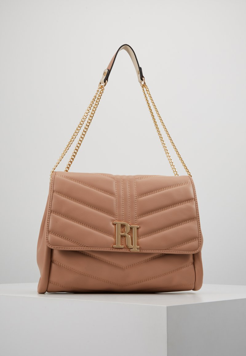 River Island - MEDIUM SOFT UNDERARM DROP 2 - Handbag - light beige