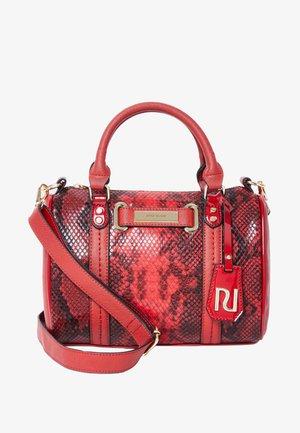 MINI BOWLER  - Handbag - red