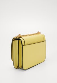 River Island - EMBOSSED SATCHEL - Torba na ramię - yellow - 3