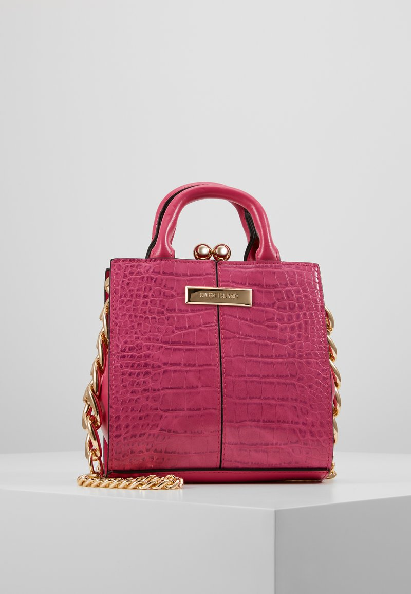 River Island - LADY BAG - Håndveske - pink