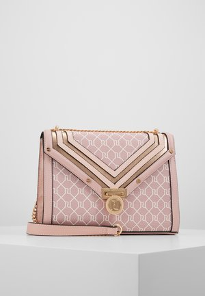 MONOGRAM MED FOLIO SHOULDER - Handtas - stone