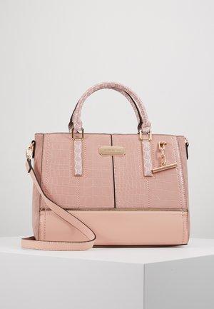 T BAR CHARM TOTE - Tote bag - light pink