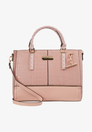 T BAR CHARM TOTE - Tote bag - light pink
