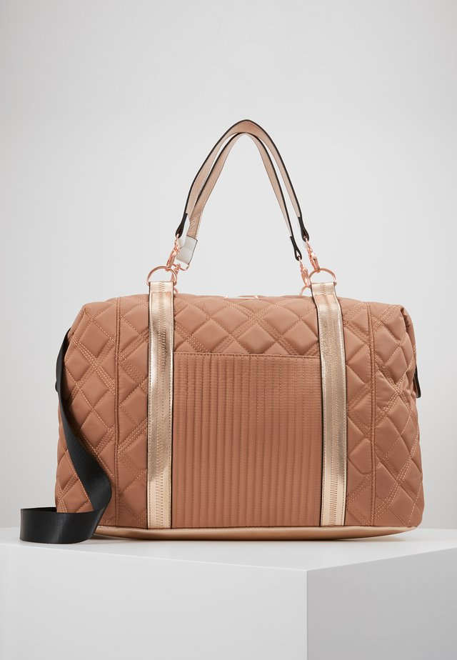 Weekendbag - rose gold